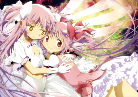 Madoka will unwrap Ultimate Madoka as a selfcest Christmas present