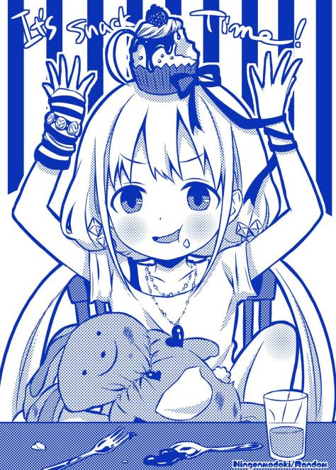 Even Anzu is celebrating