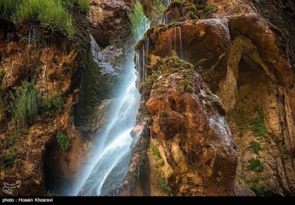 Fars, Iran - Sepidan County - Abshare Margoon (waterfall) near Sepidan_07