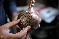 Iranian Art - Handicrafts - Inlaid Turquoise 01