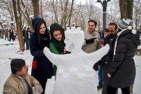 Kurdistan Province, Iran - Marivan, Snowman Festival 00