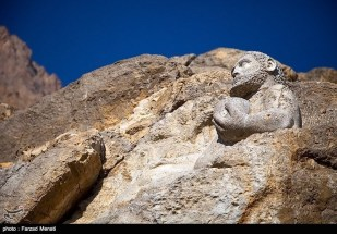 Rosetta Stone UNESCO World Heritage Site Behistun Bisutun Inscription Iran 09