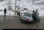 Iran, Kerman Winter Snow 08