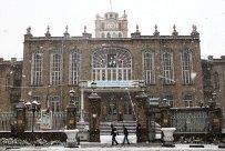 Snowfall in Tabriz Iran 1