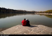 Zayanderud River in Iran's Isfahan Province 04