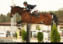 International Equestrian Tournament in Tehran Iran 01
