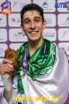 Taekwondo - 2015 WTF World Taekwondo Championships - Chelyabinsk, Russia - Men '58kg - Iran's Farzan Ashour Zadeh (G)