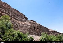 Rageh Canyon in Kerman, Iran (Photo credit: Mozhde Moazenzadeh for ISNA)
