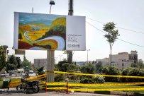 Tehran, Iran - Billboards swap - Tehran is an art gallery 2015 - 102