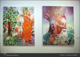 Tehran, Iran - Laleh Gallery - In memory of Hannibal Alkhas by his students 1
