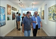 Tehran, Iran - Laleh Gallery - In memory of Hannibal Alkhas by his students 6