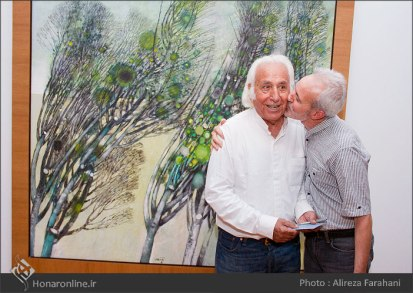 Tehran, Iran - Shahrivar Gallery - Abolghassem Saidi 1st Iran solo exhibition - 18
