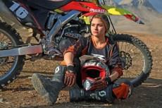 Behnaz Shafiei - Iran woman professional motocross 2a