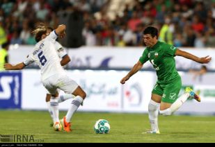 Charity game in Iran with Football World Stars - Match 11