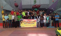 Iranian youth and junior national climbing team members training in Hamedan - 2015 July - 02