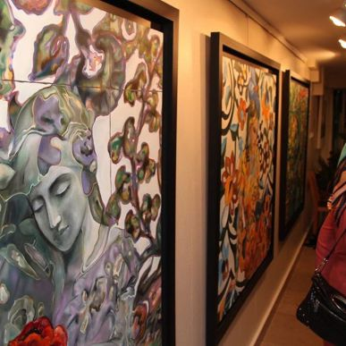 'Distant memories' by Iranian artist Tara Behbahani - Tehran 2015 - 09