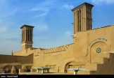 Yazd, Iran - Yazd City - Windcatchers (Ancient Iranian Cooling System) 08