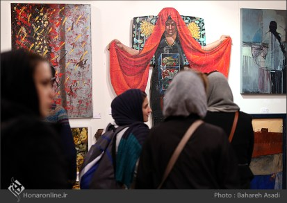 8th Haft Negah (Seven Views) - Iranian expo at Niavaran Cultural Complex, organized by the Aria, Elaheh, Dey, Golestan, Haft Samar, Vaali and Mah-e Mehr galleries - 03