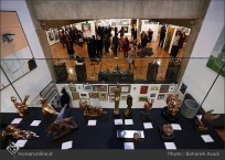 8th Haft Negah (Seven Views) - Iranian expo at Niavaran Cultural Complex, organized by the Aria, Elaheh, Dey, Golestan, Haft Samar, Vaali and Mah-e Mehr galleries - 05