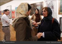 8th Haft Negah (Seven Views) - Iranian expo at Niavaran Cultural Complex, organized by the Aria, Elaheh, Dey, Golestan, Haft Samar, Vaali and Mah-e Mehr galleries - 08