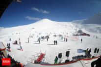 Tehran, Iran - Tochal International Ski Resort - 2015 - 01