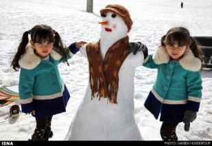 Fars, Iran - Winter recreation near Shiraz in Sepidan County 04
