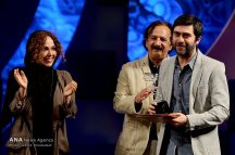 "Best Director Silver Simorgh was awarded to ""Frenzy"" by Turkish director Emin Alper at the 34th Fajr International Film Festival held at Tehran's Vahdat Hall, Iran (Photo credit: Vahid Khodadi / Azad News Agency)"
