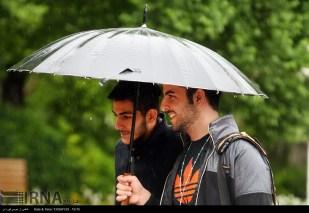 Tehran, Iran - Sudden spring rain in Tehran 20