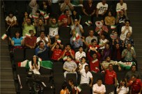 Rio 2016 - FIVB Men World Olympic Qualification Tournament (WOQT) in Japan - Iran vs. Poland - Volleyball fans - 02