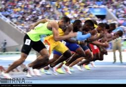 Rio 2016 - Athletics - 100m - Reza Ghasemi - Olympic Games in Rio de Janeiro, Brazil - (IRNA)