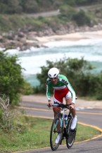Rio 2016 - Cycling Road - Time Trial - Ghader Mizbani Iranagh - Olympic Games in Rio de Janeiro, Brazil - Foto Phil Walter-Getty Images South America