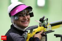 Rio 2016 - Shooting - 10m Air Rifle - Najmeh Khedmati - Olympic Games in Rio de Janeiro, Brazil