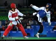 Rio 2016 - Taekwondo - Men's -58kg - Farzan Ashourzadeh Fallah (Farzan Ashour Zadeh Fallah) - Olympic Games in Rio de Janeiro, Brazil - (IRNA)