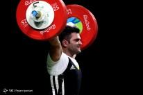 Rio 2016 - Weightlifting - 105kg - Mohammad Reza Barari - Olympic Games in Rio de Janeiro, Brazil - 01 - Foto Payam Parsaei (YJC)