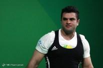 Rio 2016 - Weightlifting - 105kg - Mohammad Reza Barari - Olympic Games in Rio de Janeiro, Brazil - 02 - Foto Payam Parsaei (YJC)