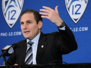 "Pac-12 Commish Larry Scott: Rush'sactions ""completely inapropriate"""