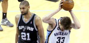 Sorry, Marc Gasol, but Tim Duncan's going to the finals again.