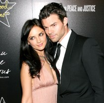 Rachael with hubby Daniel Gillies