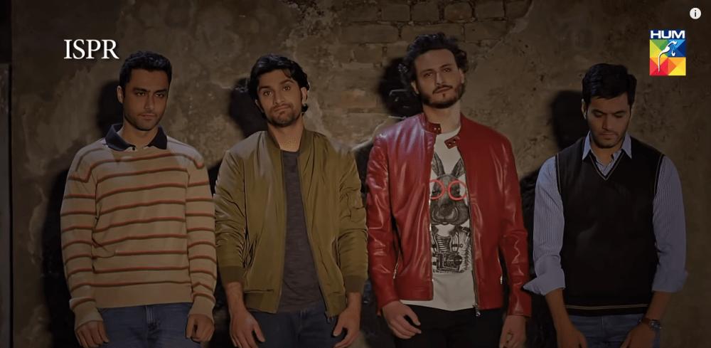 SSG - Shahryar Afzal, Saad Faraz, Malak Shahzain and Sharique Aziz