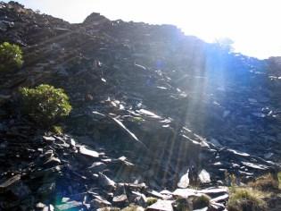 Huge piles of slate