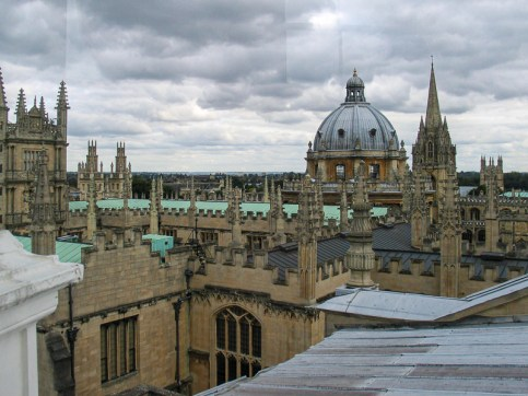 Sheldonian Theatre - view from the cupola