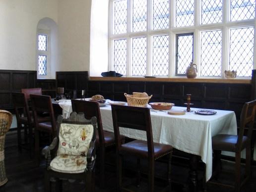 Plas Mawr - dining room