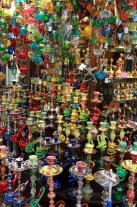 Madinat Jumeirah - a riot of colour