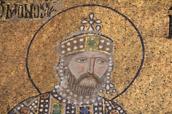 Byzantine mosaic detail