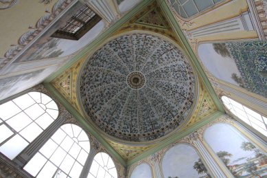 Topkapi Palace - every ceiling is different