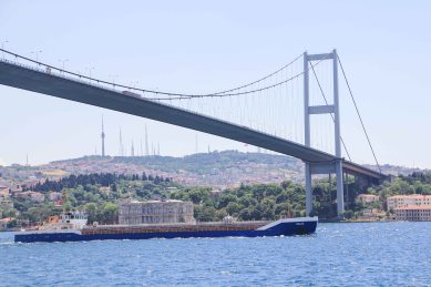 The Bosphorus Bridge (I think)