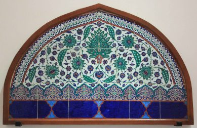 """Some of the """"tiles"""" on display"""