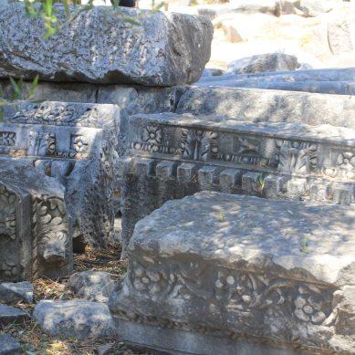Random bits of carved stone
