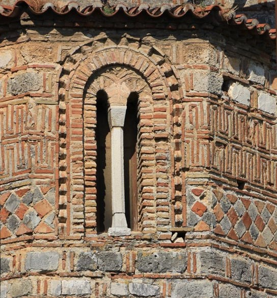Elaborate brickwork