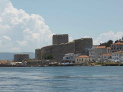 Fortress on the other side of the Dardanelles